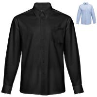chemise oxford noire ou bleue homme personnalisable broderie publicitaire