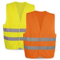 Vest gilet sécurité fluo personnalisable vêtement haute visibilité pas cher publicitaire