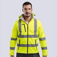 parka veste sécurité haute visibilité personnalisable publicitaire