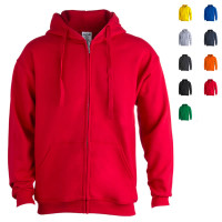 Sweat-shirt à capuche zippé pas cher publicitaire goodies personnalisé