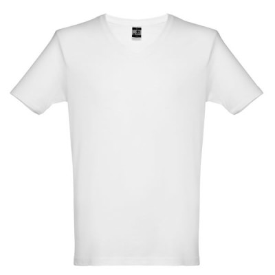 tee-shirt col v homme personanlisable
