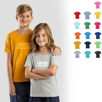 T-shirt enfant couleur publicitaire Tee-shirt goodies