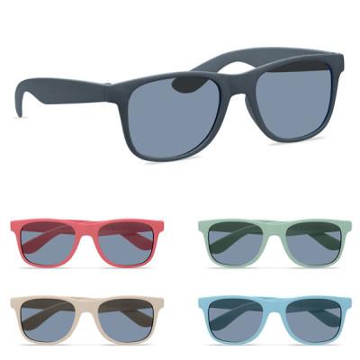 lunettes de soleil bambou personnalisée publicitaire pas cher