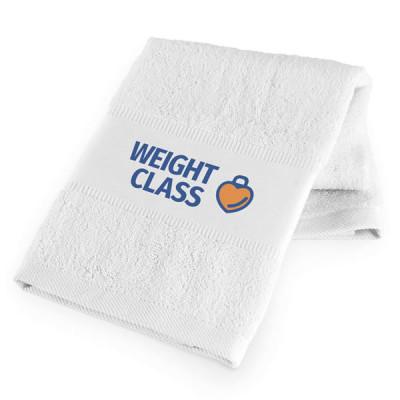 serviette club sport fitness personnalisable broderie publicitaire