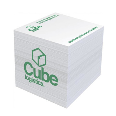 Cube papier personnalisé Bloc-notes cube objet publicitaire personnalisable goodies