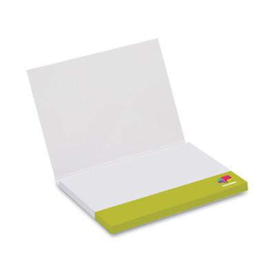 Etui bloc note adhesif-memo repositionnable publicitaire personnalisable goodies