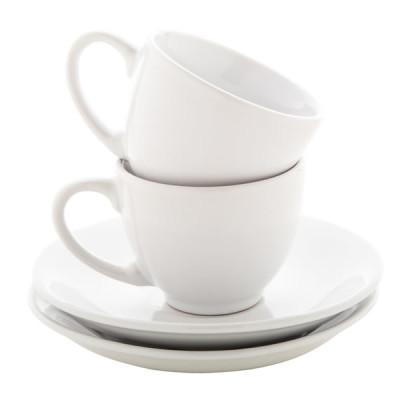 Set tasse café expresso duo personnalisé Objet publicitaire personnalisable goodies