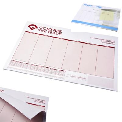 Sous-main papier personnalisable objet publicitaire personanlisé goodies