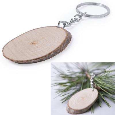 porte-clés bois publicitaire goodies personnalisé