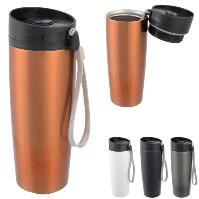 mug isotherme gravure logo entreprise Mug de voyage en metal
