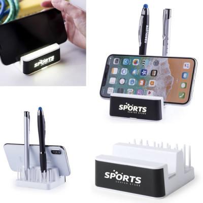 Support téléphone porte stylo publicitaire personnalisé