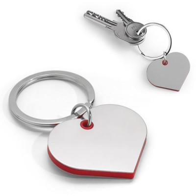 porte-clés coeur mariage publicitaire pas cher