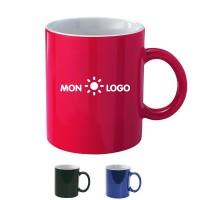 Mug personnalisé en couleur et intérieur blanc 300 ml