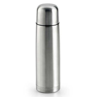 Bouteille isotherme personnalisé publicitaire 500 ml en acier argenté pour gravure laser