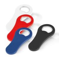 Limonadier décapsuleur personnalisable publicitaire en plastique couleur blanc bleu rouge noir