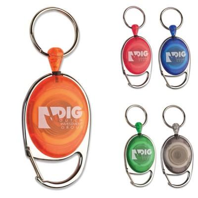 Porte badge enrouleur personnalisé pour infirmière, bureau, congrès, salon, aéroportuaire