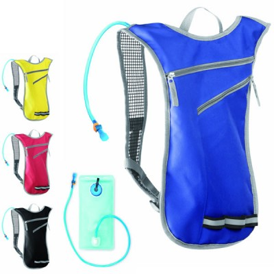 Sac à dos poche à eau personnalisé publicitaire 2 litres pour jogging randonnée vtt cycliste