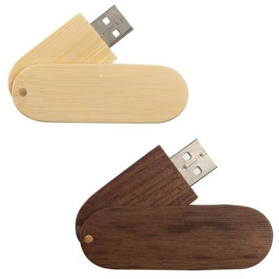 Clé usb en bois personnalisé publicitaire