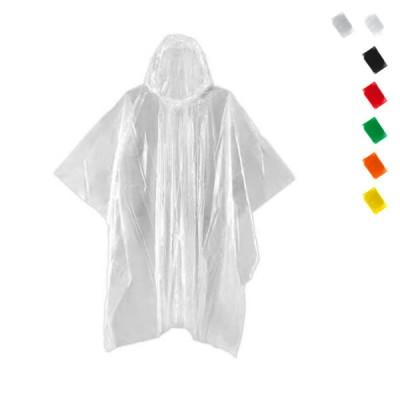 Ponchon personnalisé pour marathon semi-marathon sport et événementiel. Poncho publicitaire noir, blanc, transparent bleu, vert, orange, rouge