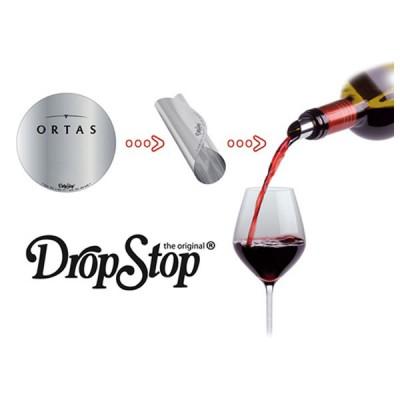 Dropstop personnalisable en quadrichromie ou 1 couleur pour goodies foire au vins, viticulteur, marchand de vin, caviste