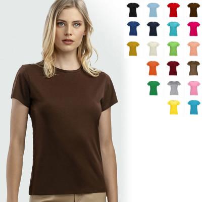 tee-shirt femme personnalisable 150 gr couleur tee-shirt publicitaire