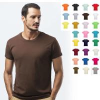 t-shirt unisexe couleur publicitaire 150 gr