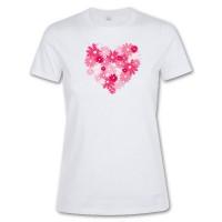 Tee-shirt blanc femme publicitaire Regent Sol's 150 Grs. T-shirt personnalisé