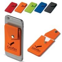 Etui porte carte visite ou bancaire pour téléphone portable publicitaire personnalisé