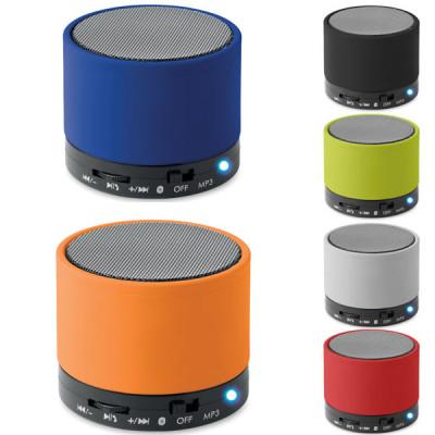 Haut parleur Bluetooth personnalisable publicitaire Round Bass
