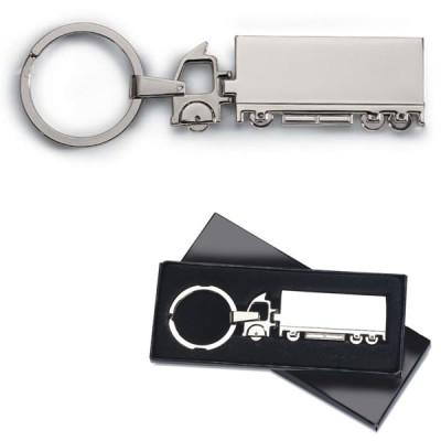 Porte-clés camion transport routier personnalisable publicitaire