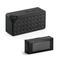 Enceinte Bluetooth rectangulaire noire pas cher personnalisé publicitaire goodies