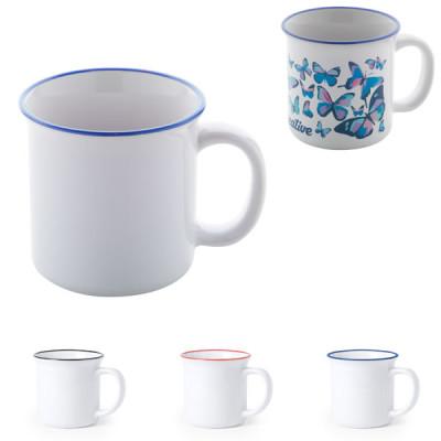 Mug design vintage sublimation objet publicitaire goodies