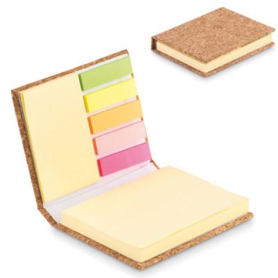 Bloc-notes avec notes adhesives personnalisable objet personnalisé goodies