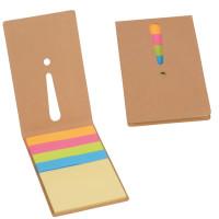 Carnet notes adhesives personanlisable mémos repositionnable objet publicitaire personanlisé