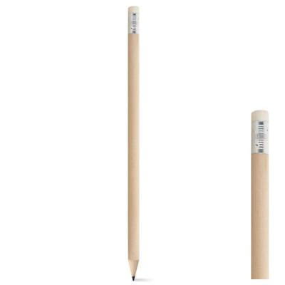 Crayon à papier publicitaire personnalisable Crayon gomme pas cher