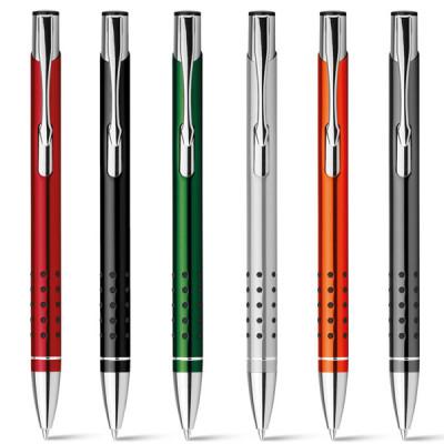 Stylo bille métal couleur publicitaire pour entreprise