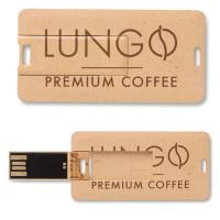 Clé USB écologique paille publicitaire personnalisé logo entreprise