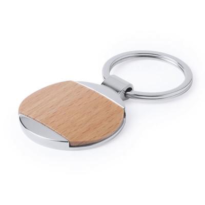 porte clés bois rond publicitaire goodies personnalisé