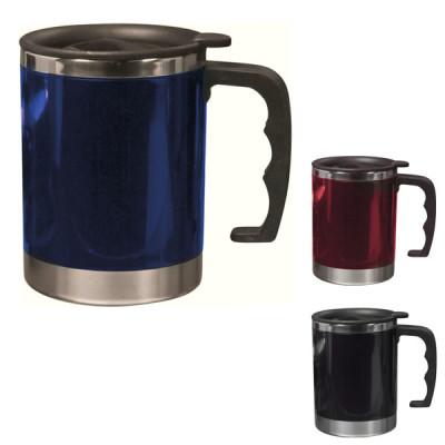 mug isotherme couvercle poignee personnalise logo entreprise