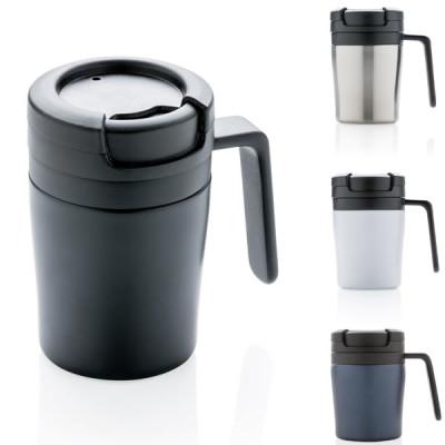 Petit mug poignee machine cafe personnalisable logo entreprise