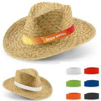 chapeau mariage fêtes publicitaire chapeau paille personnalisé
