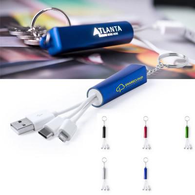 porte-clés cable chargeur téléphone smartphone tablette