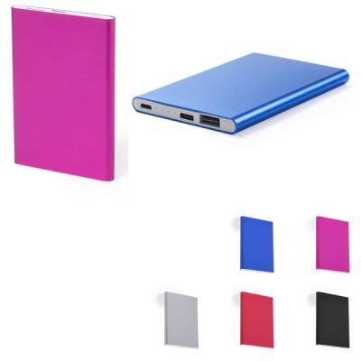 Power bank batterie plate aluminium téléphone 2200 mah