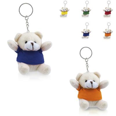 porte-clés ours nounours en peluche publicitaire pas cher